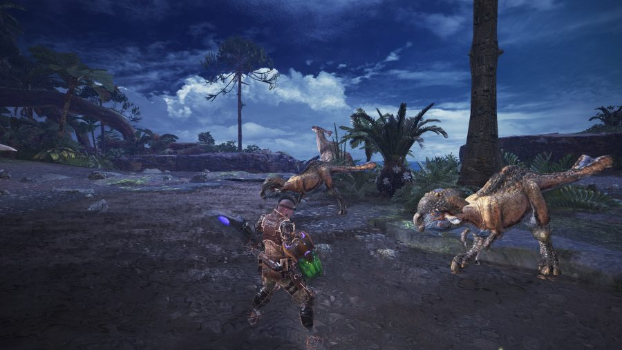 Monster Hunter World PC graphics 4K