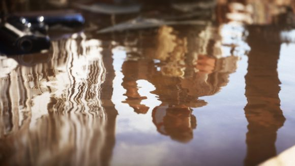 Battlefield 5 ray traced puddles