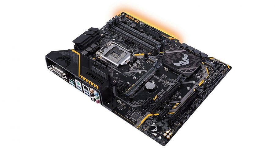 Best gaming motherboard runner-up - Asus TUF Z370-Pro Gaming