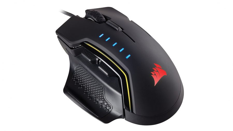 Best gaming mouse runner-up - Corsair Glaive RGB