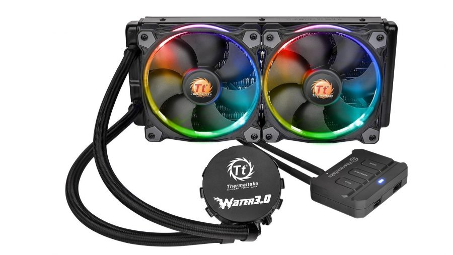 Best liquid cooler runner-up - Thermaltake 240 Water 3