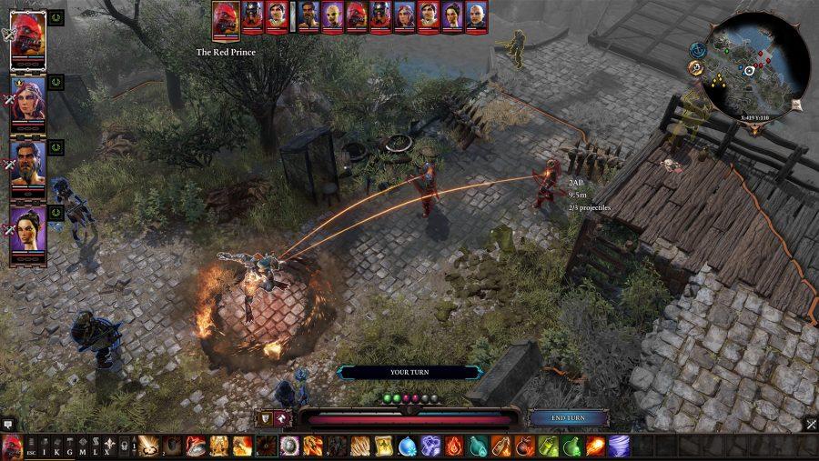Divinity Original Sin 2 combat