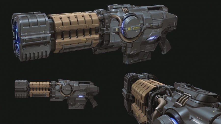 Doom Eternal Plasma Gun