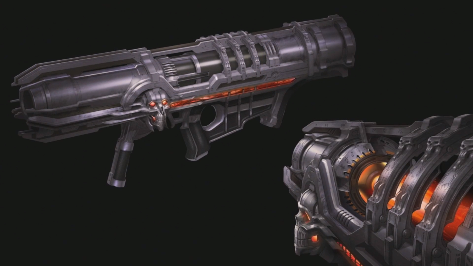 Doom-Slayer VS Cinder Fall The Prelude by METADANE on DeviantArt