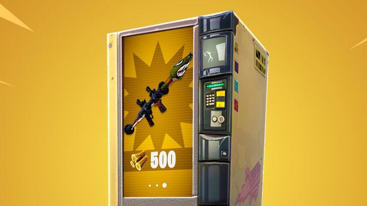 Fortnite 5.2 patch notes - vending machines rebalance