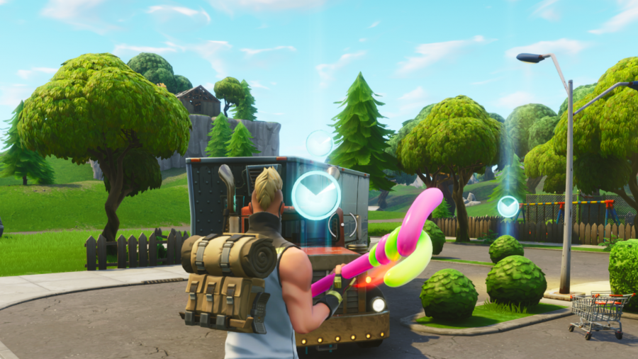 All Fortnite timed trials locations