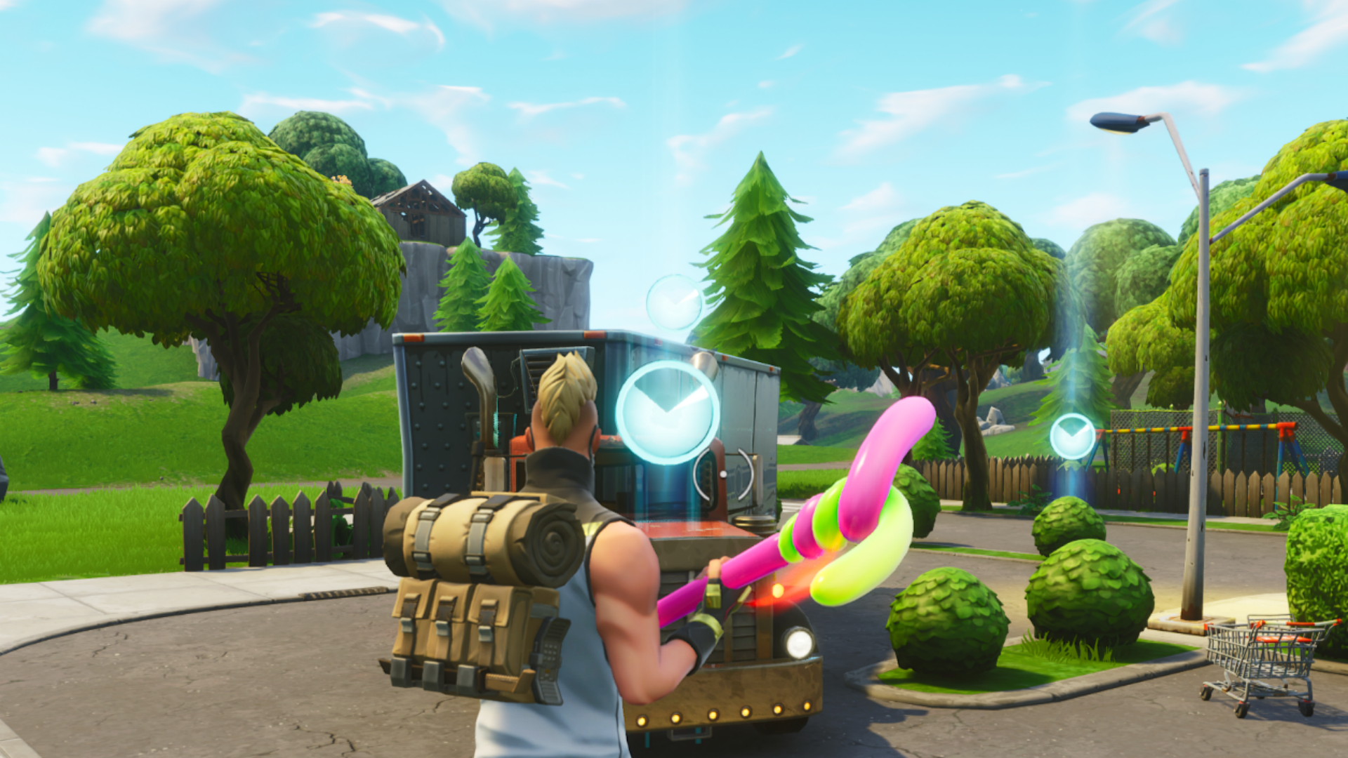 Fortnite complete timed trial locations