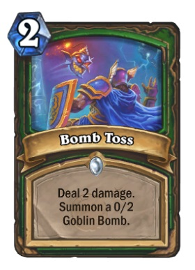 Hearthstone Boomsday Project - Bomb Toss
