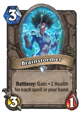Hearthstone Boomsday Project - Brainstormer