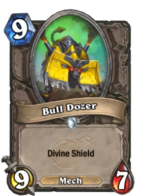 Hearthstone Boomsday Project - Bull Dozer