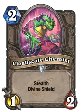 Hearthstone Boomsday Project - Cloakscale Chemist
