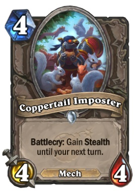 Hearthstone Boomsday Project - Coppertail Imposter