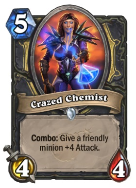 Hearthstone Boomsday Project - Crazed Chemist