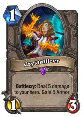 Hearthstone Boomsday Project - Crystallizer