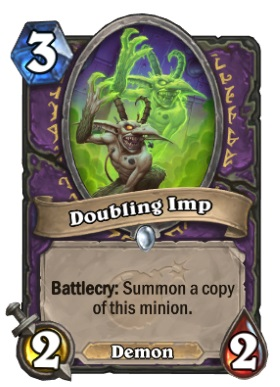 Hearthstone Boomsday Project - Doubling Imp
