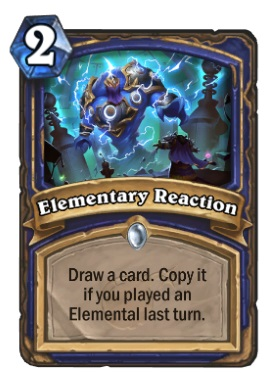 Hearthstone Boomsday Project - Elementary Reaction