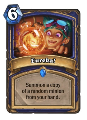 Hearthstone Boomsday Project - Eureka