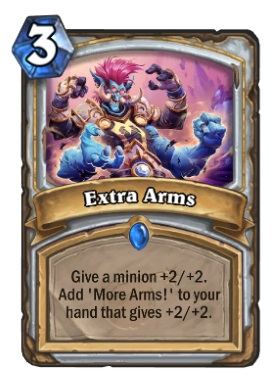 Hearthstone Boomsday Project - Extra Arms