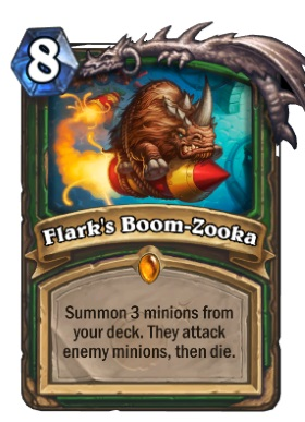 Hearthstone Boomsday Project - Flark's Boom-Zooka
