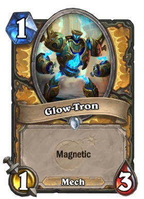 Hearthstone Boomsday Project - Glow-Tron