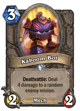 Hearthstone Boomsday Project - Kaboom Bot