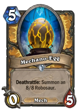 Hearthstone Boomsday Project - Mechano-Egg