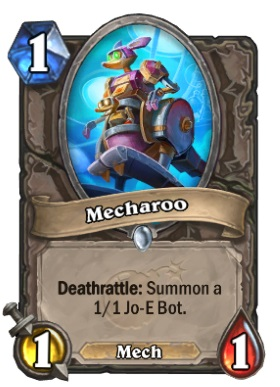 Hearthstone Boomsday Project - Mecharoo