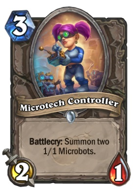 Hearthstone Boomsday Project - Microtech Controller