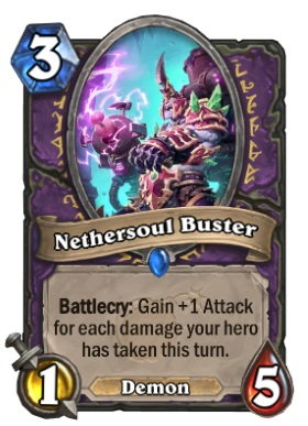 Hearthstone Boomsday Project - Nethersoul Buster