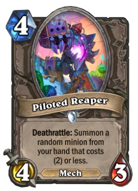 Hearthstone Boomsday Project - Piloted Reaper