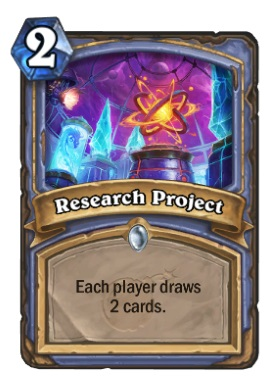 Hearthstone Boomsday Project - Research Project