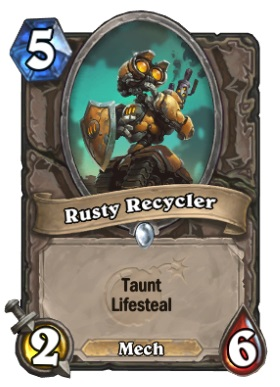 Hearthstone Boomsday Project - Rusty Recycler