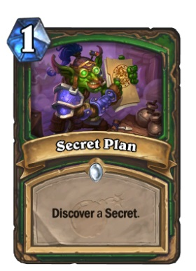 Hearthstone Boomsday Project - Secret Plan
