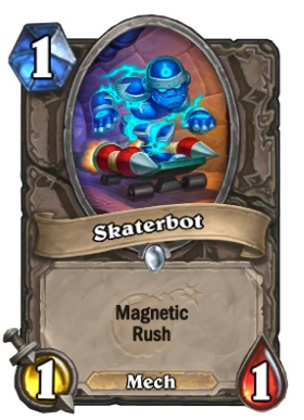 Hearthstone Boomsday Project - Skaterbot