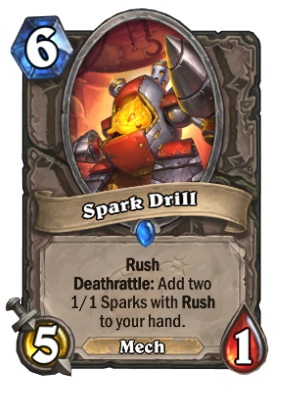 Hearthstone Boomsday Project - Spark Drill