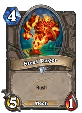 Hearthstone Boomsday Project - Steel Rager