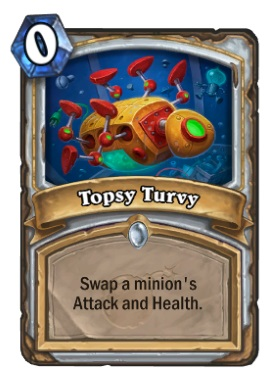 Hearthstone Boomsday Project - Topsy Turvy