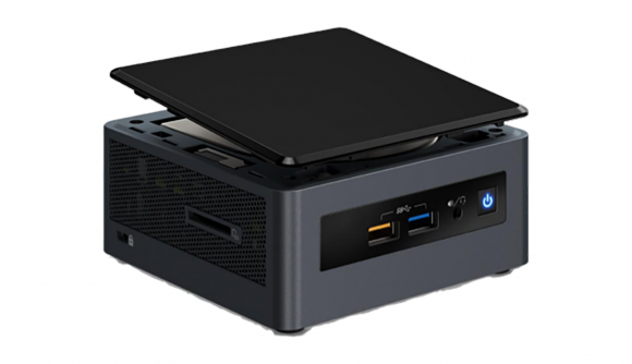 Intel Crimson Canyon NUC with Radeon RX 540 GPU
