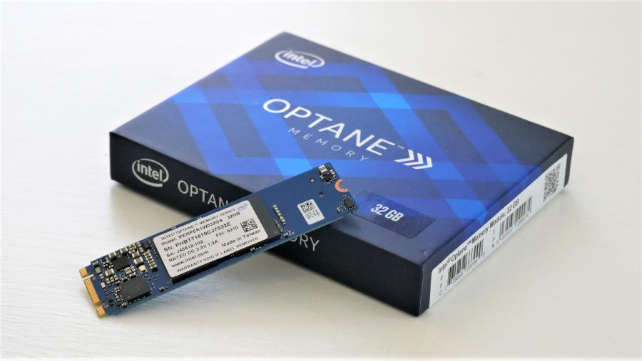 Intel Optane 32GB retail kit