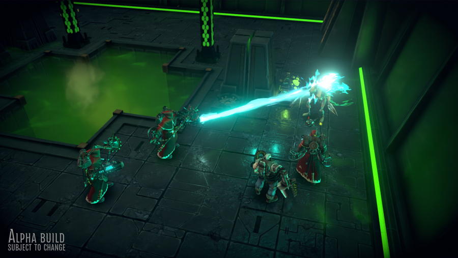 Warhammer 40k Mechanics battle