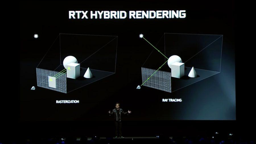 Nvidia RTX Hybrid Rendering