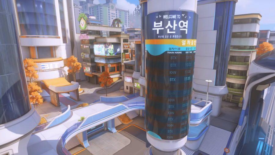 Overwatch Busan map