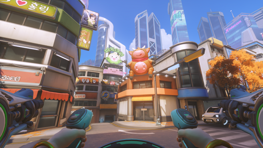 Overwatch S New Busan Map Is A Beautiful Homage To Korea