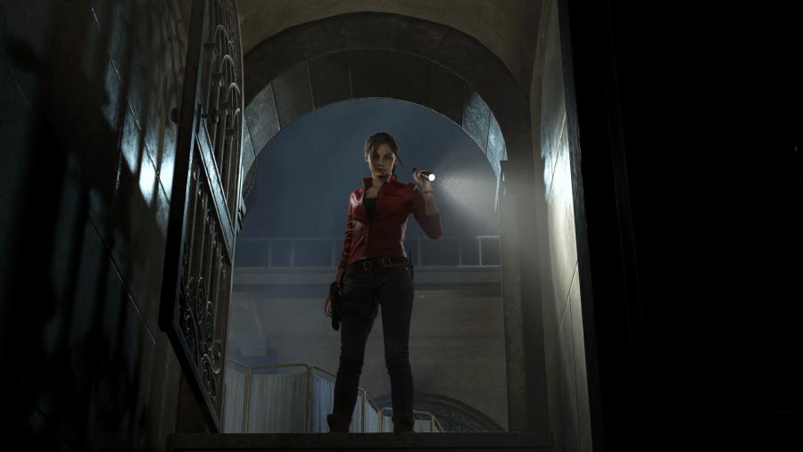 Resident Evil 2 remake boss fight gameplay