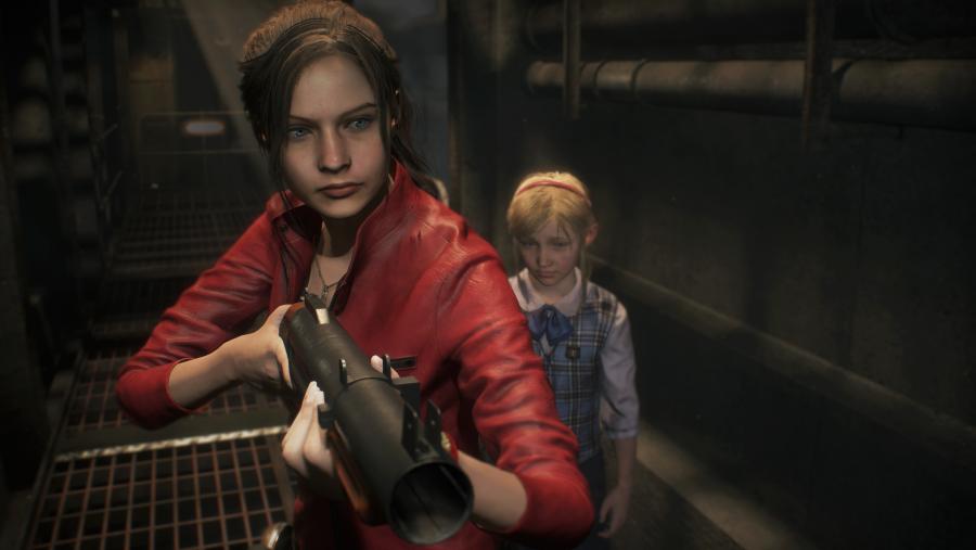Resident Evil 2 remake gameplay