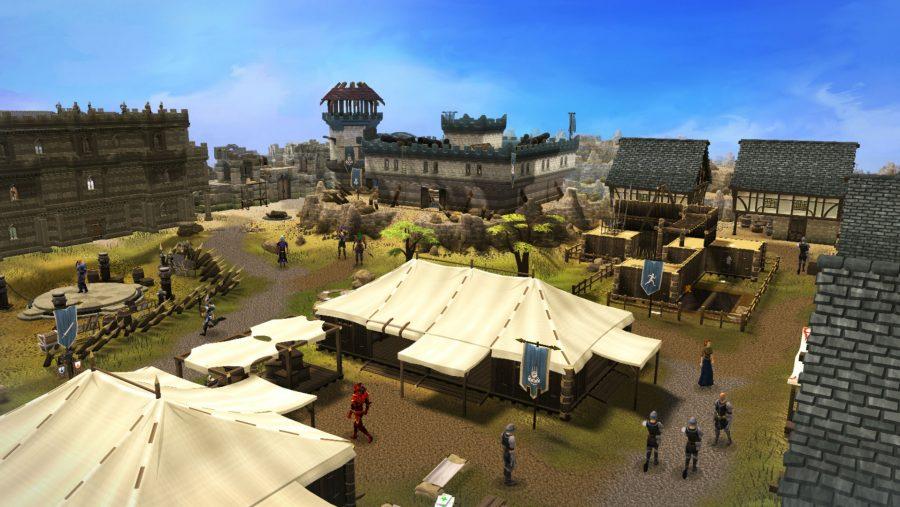 Runescape town