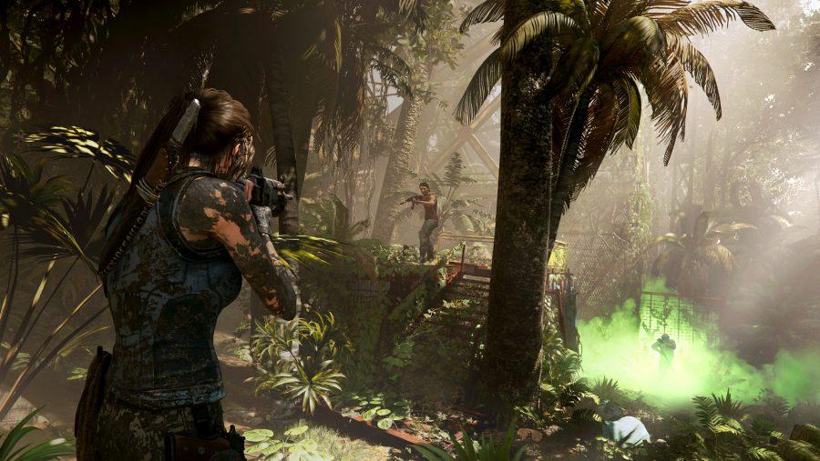 Shadow of the Tomb Raider muddy
