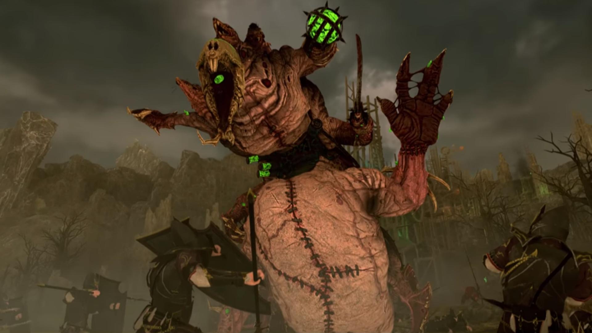 Total War Warhammer 2 Hell Pit Abomination