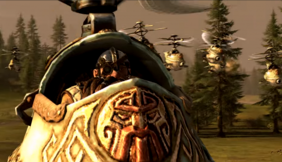 Total War Warhammer 2 gyrocopter