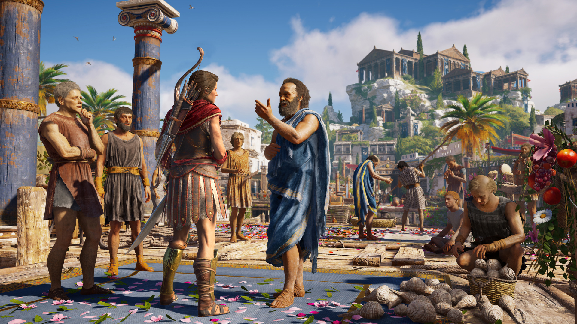 Assassin S Creed Odyssey Won T Let You Play In Greek Pcgamesn